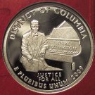 2009-S Deep Cameo Silver Proof District of Columbia Quarter #01019