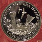 2009-S Silver Ultra Cameo Proof Northern Mariana Islands Quarter #01059