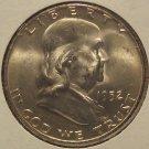 1952-D Franklin Silver Half Dollar MS61 FBL #M062