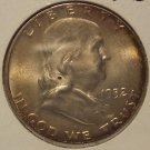 1952-D Franklin Silver Half Dollar MS62 FBL #M063