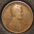 1910-S Lincoln Wheat Back Penny VG #01066