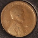 1923-S Lincoln Wheat Back Penny G4 #01071