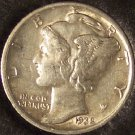 1938-S Mercury Head Dime AU #01099