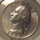 1964 Proof Silver Washington Quarter PF65 #M071