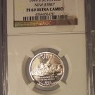 1999-S Silver Proof New Jersey State Quarter NGC PF 69 UC #G078