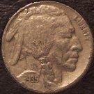 1935 Buffalo Nickel vF #0061