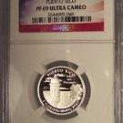 2009-S Silver Proof U.S. Territories 25c Puerto Rico NGC PF 69 UC #G041