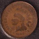 1866 Indian Head Penny AG #0347