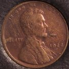 1922-D Lincoln Wheat Back Cent F12 Details #0353