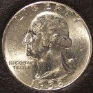 1958 Washington Silver Quarter Gem BU With Die Break #0352