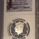 2014-S Kennedy Silver Proof 50c NGC PF 69 Ultra Cameo #G010