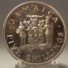 KM #40 Jamaica 1966 Proof VIII British Empire and Commonwealth Games 5S #G028