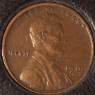 1919-S Lincoln Wheat Back Penny EF #0212
