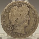1896-O Barber Quarter G SCARCE DATE #0297