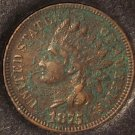 1875 Indian Head Cent VF Details #0058
