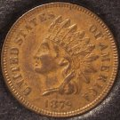 1879 Indian Head Cent XF 21/2 Diamonds #0059