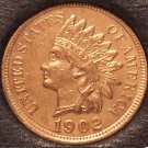 1902 Indian Head Cent BU RED!! #0075