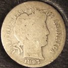 1897-S Silver Barber Dime Low Mintage #0471