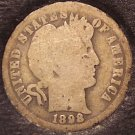 1898-O Silver Barber Dime Low Mintage #0514