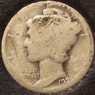 1921 Mercury Head Dime Low Mintage Semi-Key #0544