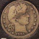 1909-D Barber Silver Quarter F #0626