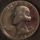 1971-S Proof Washington Clad Quarter #0620