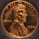 1960 Proof Lincoln Memorial Cent LD #0024