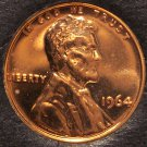 1964 Proof Lincoln Memorial Cent #0051