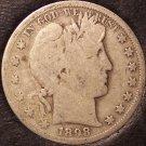 1898-S Barber Silver Half Dollar #0069