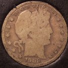 1908-D Barber Silver Half Dollar G #0504