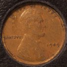 1909 Lincoln Wheat Back Penny VF #0539