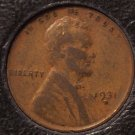 1931-D Lincoln Wheat Back Penny F12 #0750