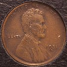 1931-D Lincoln Wheat Back Penny AU #0062