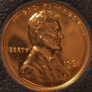 1961 Proof Lincoln Memorial Penny #0102