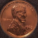 1963 Proof Lincoln Memorial Penny #0175