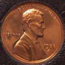 1971-S Proof Lincoln Memorial Penny #0253
