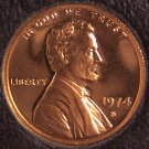 1974-S DCAM Proof Lincoln Memorial Penny #0127