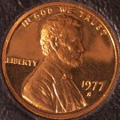 1977-S DCAM Proof Lincoln Memorial Penny #0181