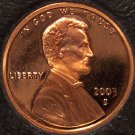 2003-S DCAM Proof Lincoln Memorial Cent #0440