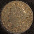 "1893 Liberty Head ""V"" Nickel G Details #0256"