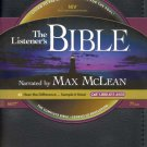 NIV Complete Listener's Bible - Audio Bible on CD Max McLean