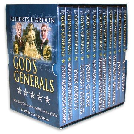 GOD'S GENERALS 12 DVD SET- JOHN G LAKE