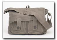 Canvas Shoulder Bag, Messenger Style