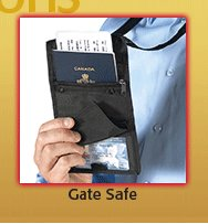 Gate Safe ID and Boarding Pass Holder