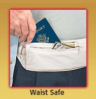 Waist Safe - Money Belt
