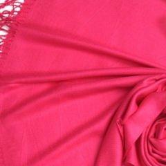 Pashmina Style, 100% Viscose Shawl - Fuchsia