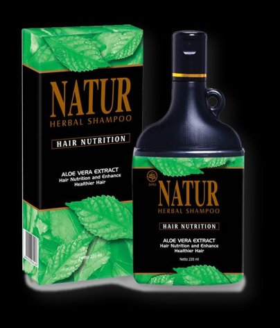 Jamu NATUR Herbal Shampoo With Aloe Vera Extract