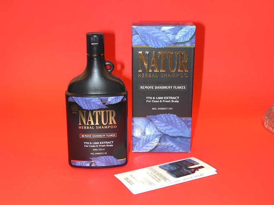 Natur Jamu Herbal Shampoo For Anti Dandruff