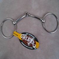 7 Inch O Ring Snaffle Bit Draft Horse/Mule Size NP