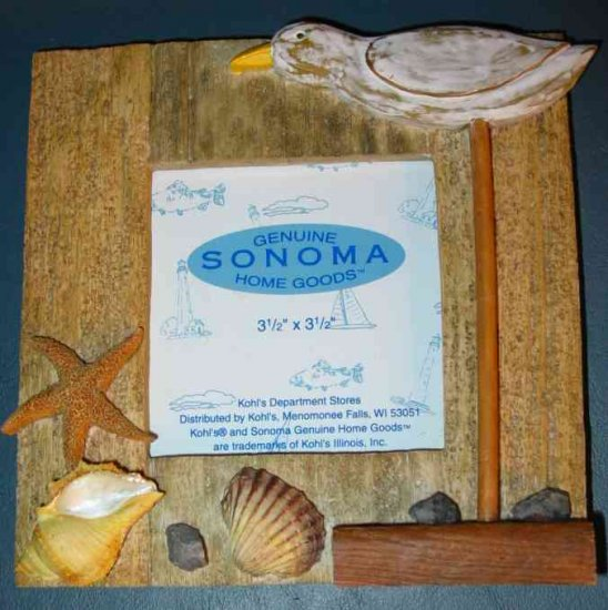 Sonoma Nautical Seagull Picture Frame